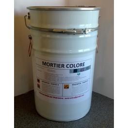 Kit de mortier coloré