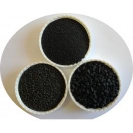 Quartz coloré Noir