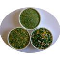 Quartz coloré mélangé Vert Jaune