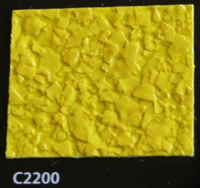 Paillette Jaune COLOR FLAKES C2200